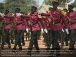 central african republic military cadets parade