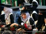 female yemeni university students attend