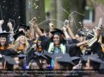 graduates of the yale school of nursing celebrate
