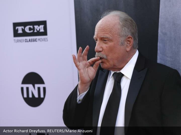 Actor Richard Dreyfuss. REUTERS/Mario Anzuoni