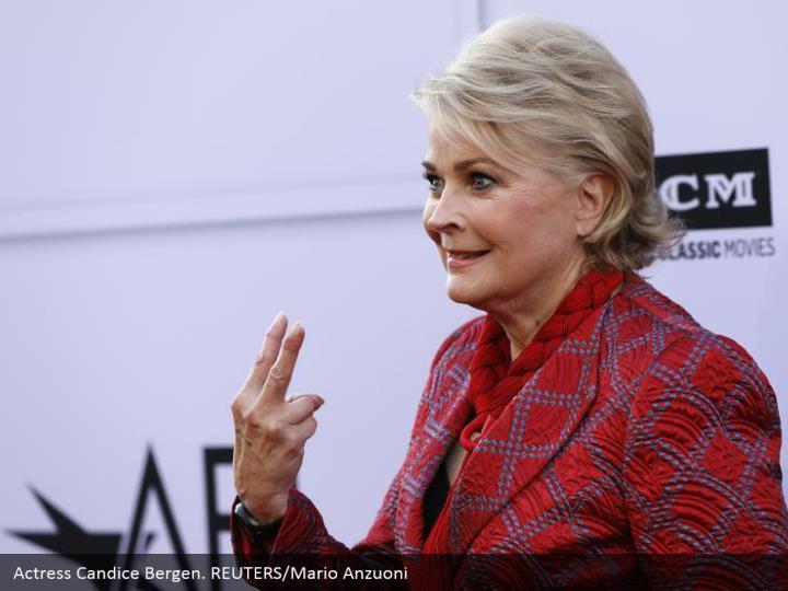 Actress Candice Bergen. REUTERS/Mario Anzuoni