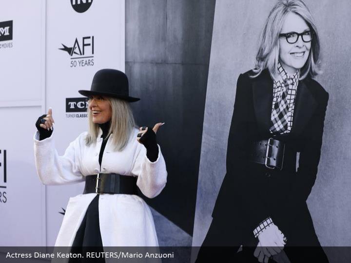 Actress Diane Keaton. REUTERS/Mario Anzuoni