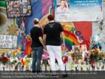 guests visit the memorial outside the pulse