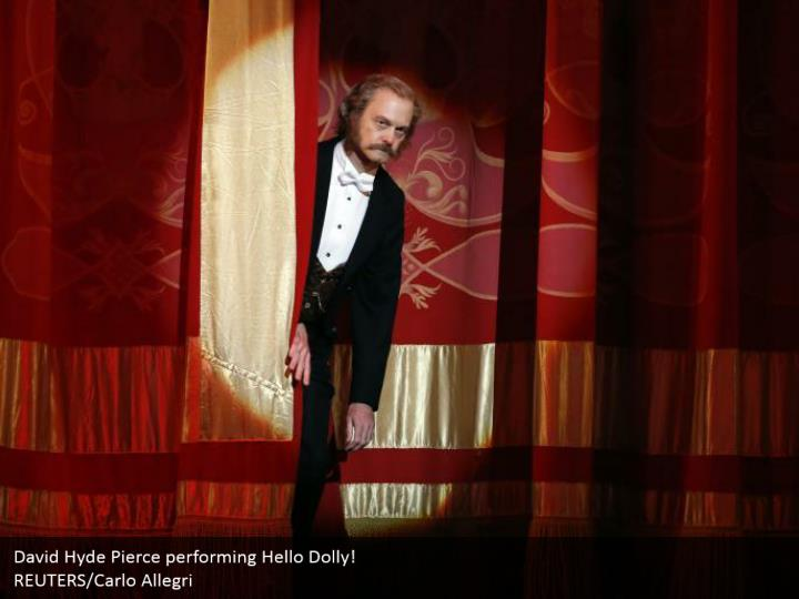 David Hyde Pierce performing Hello Dolly!  REUTERS/Carlo Allegri