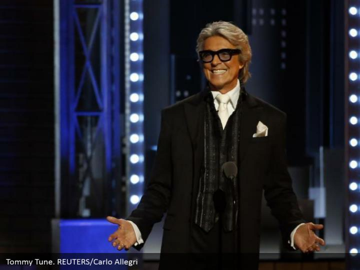 Tommy Tune. REUTERS/Carlo Allegri
