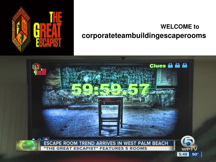 Welcome to corporateteambuildingescaperooms