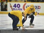 nashville predators ice crew members remove