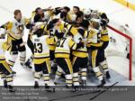 pittsburgh penguins players celebrate after 1