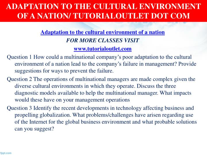 managing multinational operations ip essay A director is a senior management position responsible for the strategic and tactical management of a significant piece of the company directors typically manage a few subordinate managers within their area of responsibility, they generally have wide latitude and are expected to meet broad goals.
