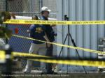 police investigate the shooting scene reuters