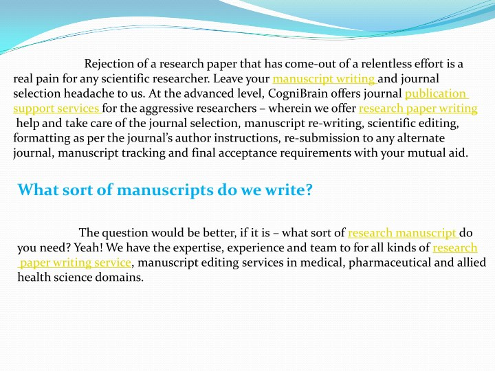Scientific Manuscripts Editing - About Oxford Science