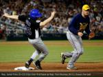 rep jared polis d co trips over first base