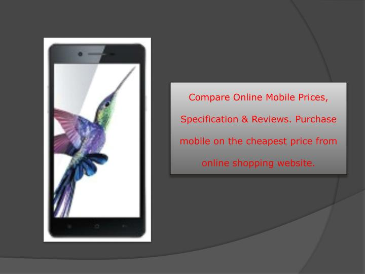 Ppt compare online mobile prices discount offer - Comprare mobili on line ...