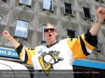 right wing patric hornqvist reacts to the fans