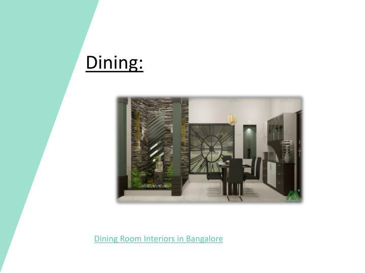 Dining: