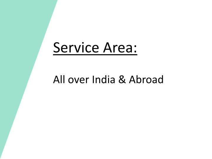 Service Area: