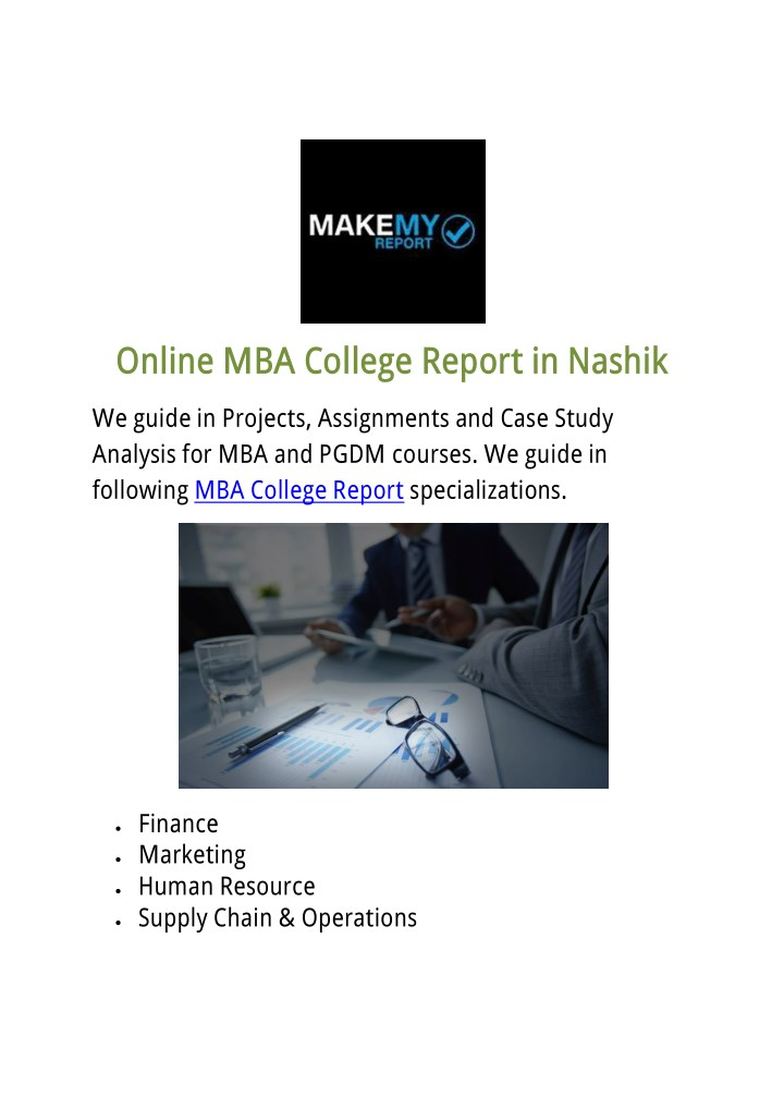 Mba ppt, College paper Example