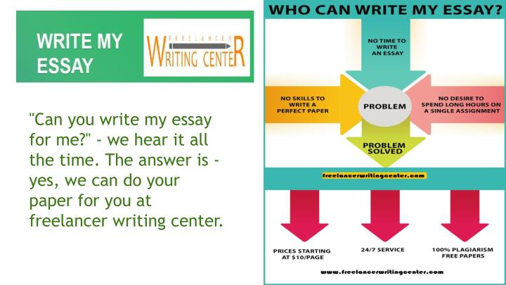 "The ""Write My Essay Service"""
