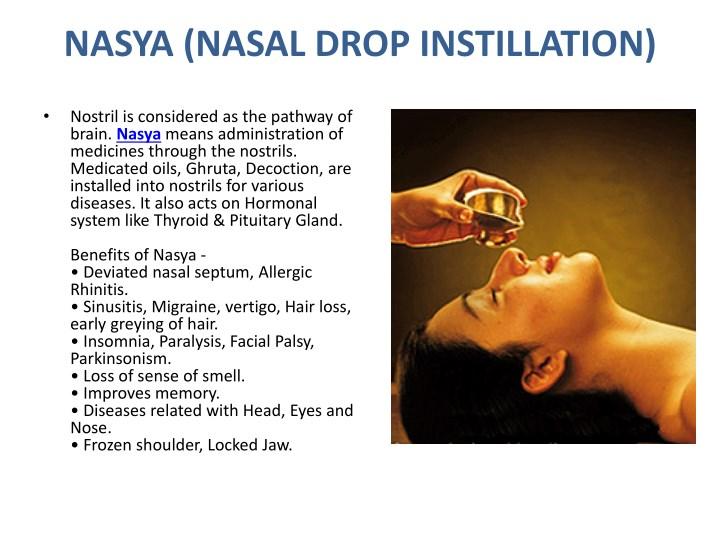 NASYA (NASAL DROP INSTILLATION)