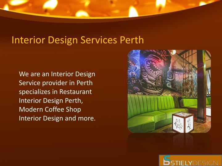 Interior Design Services Perth