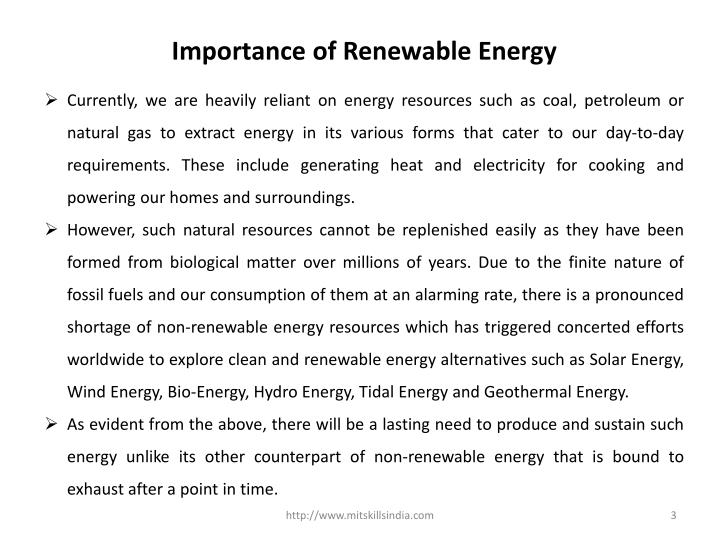 What Is The Thesis Of An Essay Essay On Importance Of Renewable Energy Thesis Statement In Essay also 1984 Essay Thesis Essay On Importance Of Renewable Energy  Pay Someone To Write My Essay Health Care Reform Essay
