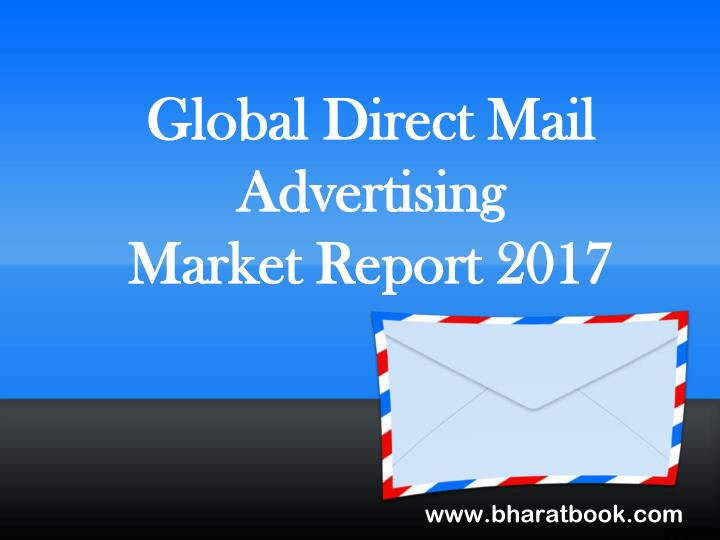 a report on the direct mail advertising Navigating sales tax treatment of direct mail and online promotional communications  • are there storage issues with direct mail advertising literature or.