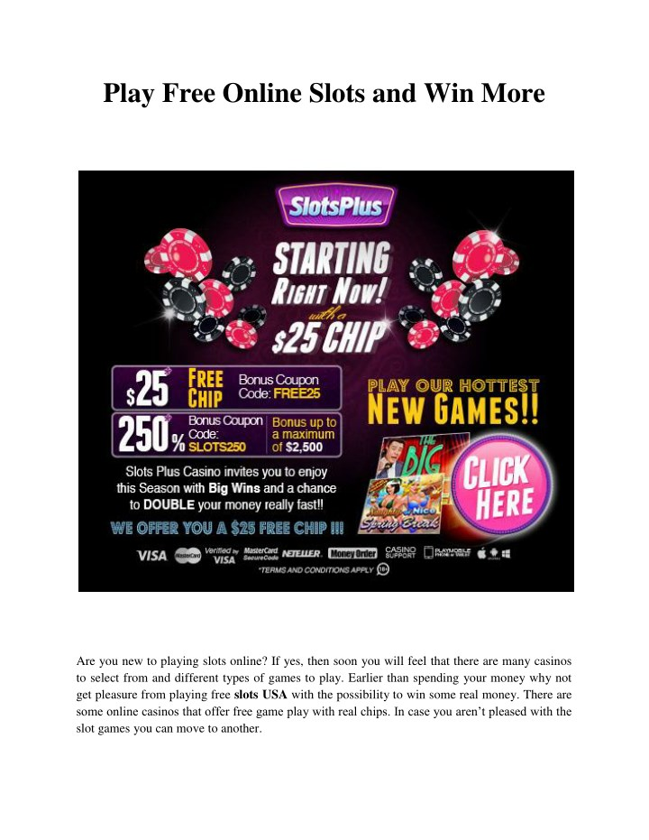 play real casino slots online for free