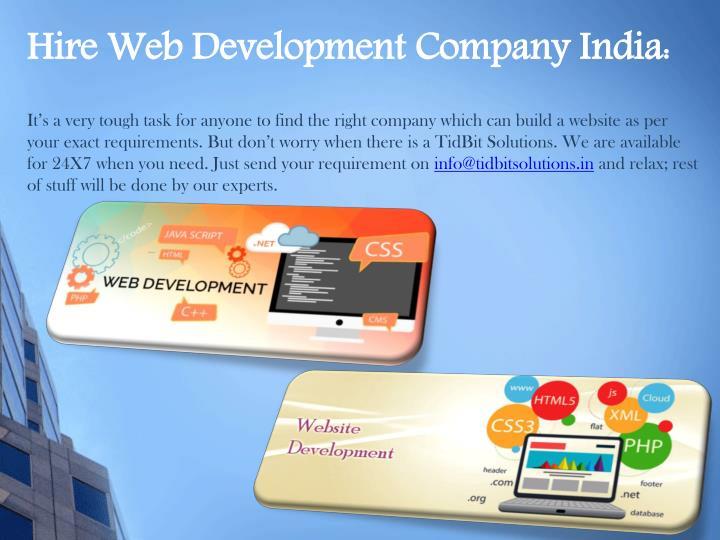 Hire Web Development Company India