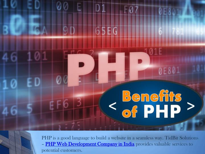 PHP is a good language to build a website in a seamless way.