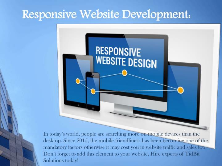 Responsive Website Development: