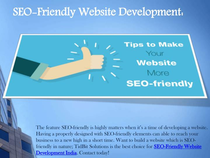 SEO-Friendly Website Development