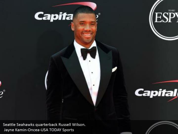 Seattle Seahawks quarterback Russell Wilson.  Jayne Kamin-Oncea-USA TODAY Sports