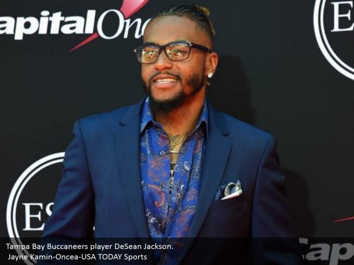 Tampa Bay Buccaneers player DeSean Jackson.  Jayne Kamin-Oncea-USA TODAY Sports