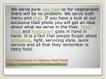 veg restaurant in udaipur best food http www bawarchirestaurant in