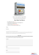bonus 20 marketing minisite template v42016