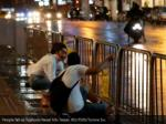 people fall as typhoon nesat hits taipei reuters