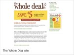 the whole deal site