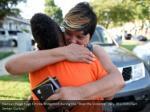 nadean paige hugs erricka bridgeford during