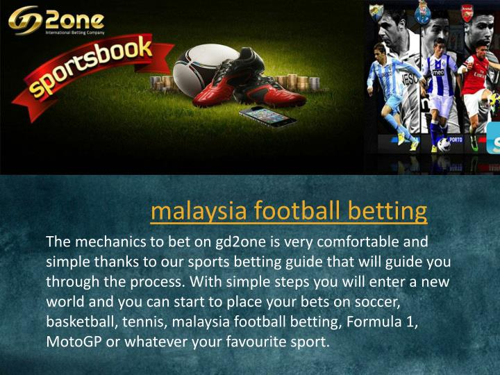 Betting Online: Football Betting Online Malaysia