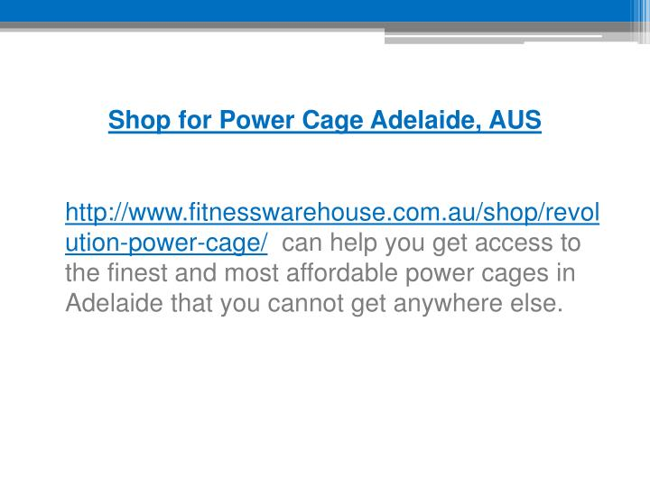 Shop for Power Cage Adelaide, AUS