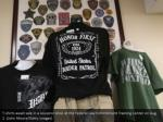 t shirts await sale in a souvenir shop