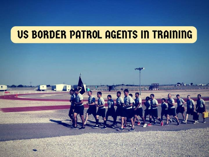 Us border patrol agents in training