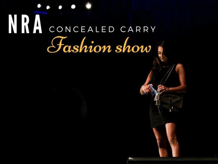 nra concealed carry fashion show
