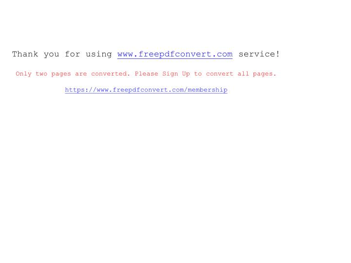 Thank you for using www freepdfconvert com service