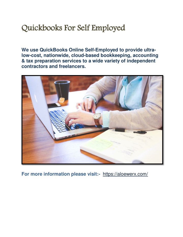 Quickbooks For Self Employed