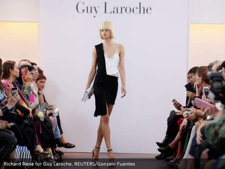 Richard Rene for Guy Laroche. REUTERS/Gonzalo Fuentes