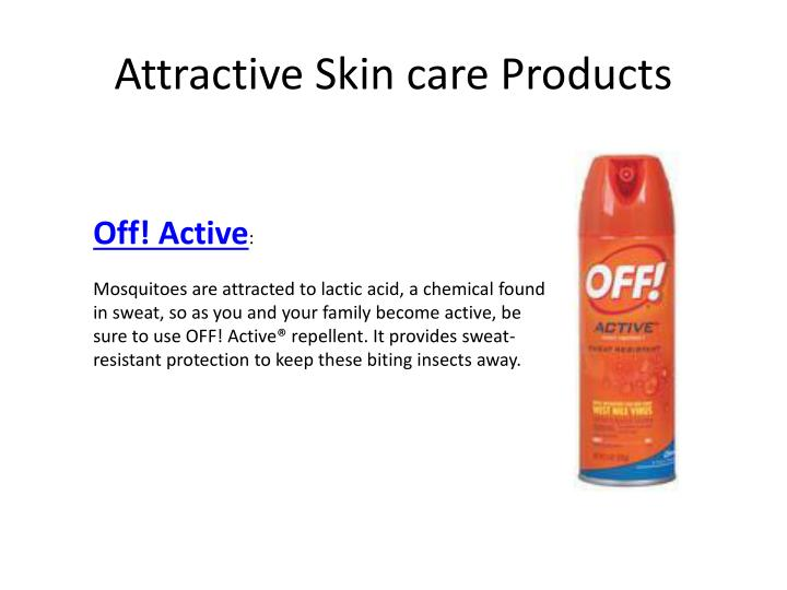 Attractive Skin care Products