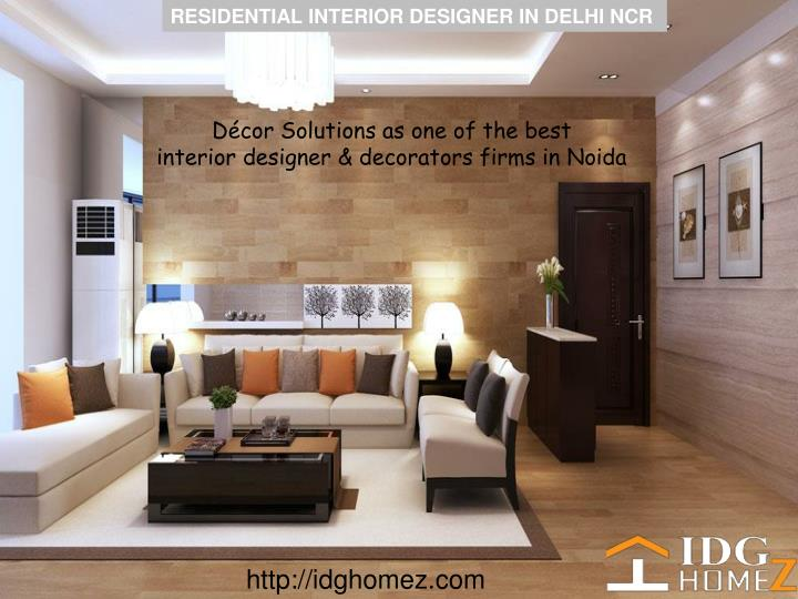 being the largest interior designers firms in delhi ncr