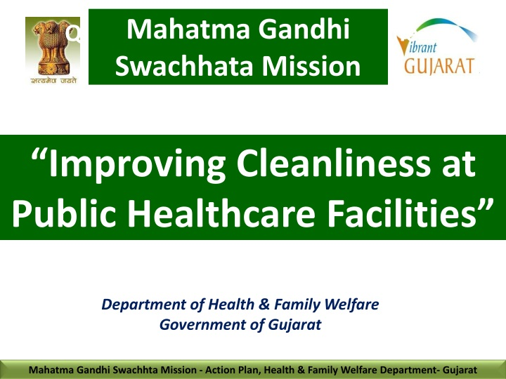 improving cleanliness at public healthcare facilities n.