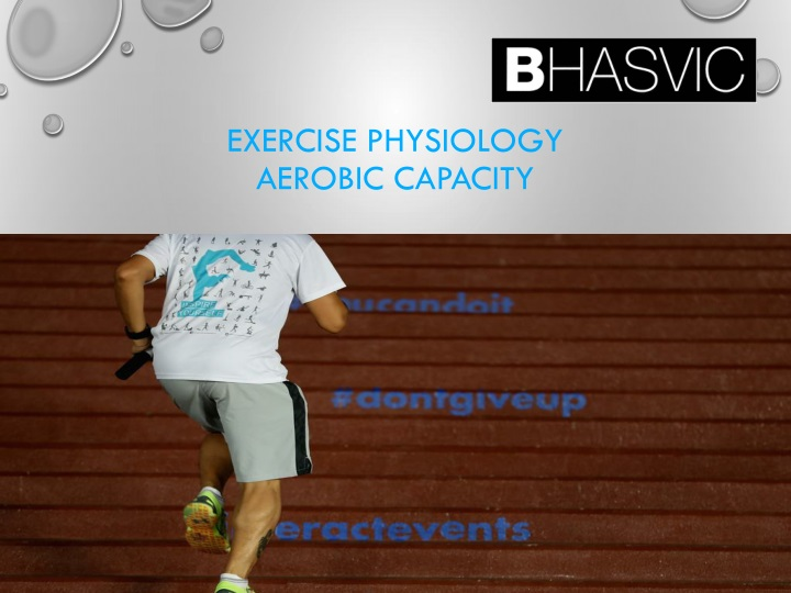 exercise physiology aerobic capacity n.